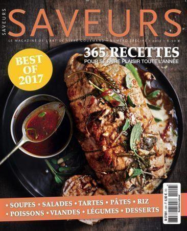 Couverture du magazine Saveurs Best Of 2017