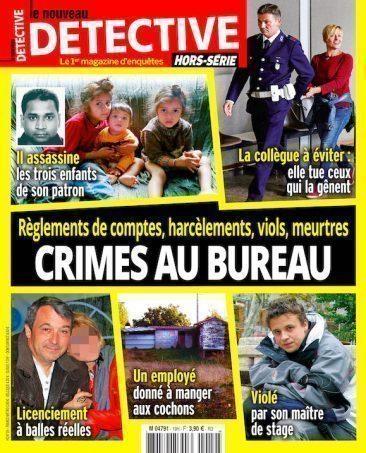 Couverture du magazine Crimes au Bureau