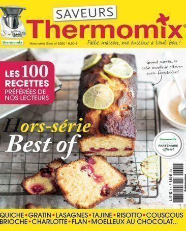 Couverture du magazine Saveurs Thermomix HS n°5 - Best of