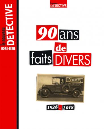 Couverture du magazine 90 ans de faits divers