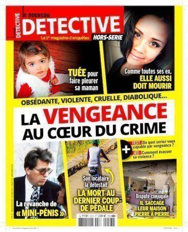 Couverture du magazine La vengeance au coeur du crime