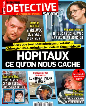 Couverture du magazine Hôpitaux ce qu'on nous cache