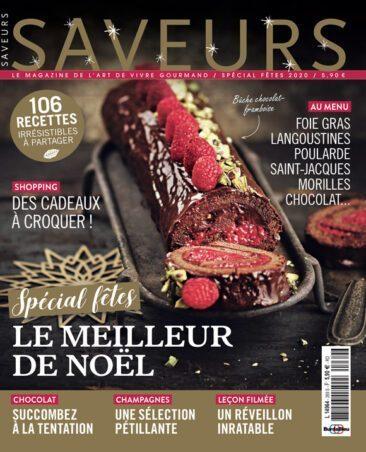 Couverture du magazine Saveurs n°269 - Spécial fêtes 2020