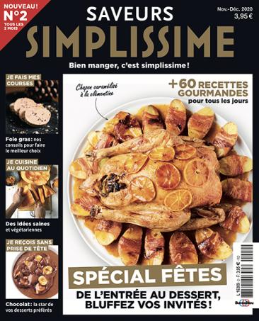 Couverture du magazine Saveurs Simplissime n°2