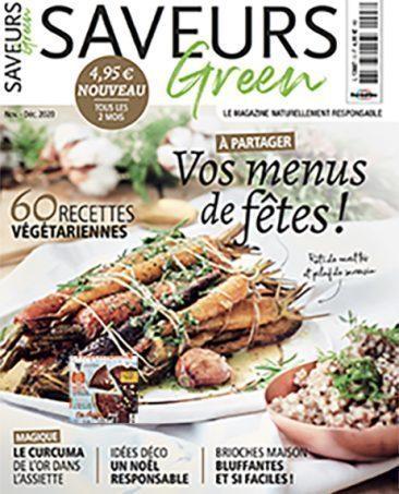 Couverture du magazine Saveurs Green n°3