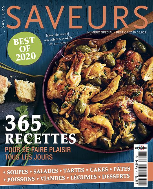 Couverture du magazine Saveurs Best Of 2020