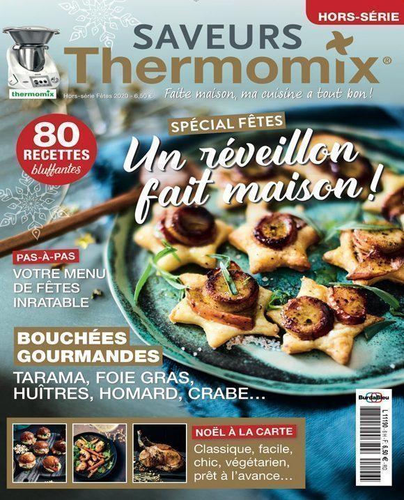 Couverture du magazine Saveurs Thermomix HS n°6 - spécial fêtes 2020