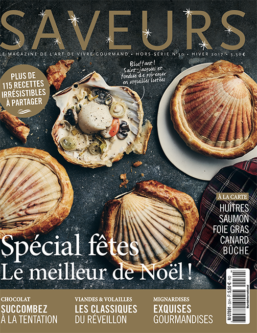 Couverture du magazine Saveurs HS n°30 - spécial fêtes 2017