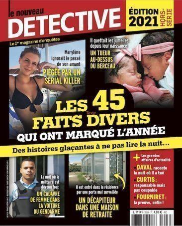 Couverture du magazine Edition 2021 - Les 45 faits divers qui ont fait l'année