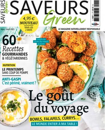 Couverture du magazine Saveurs Green n°5