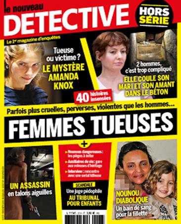 Couverture du magazine Femmes tueuses