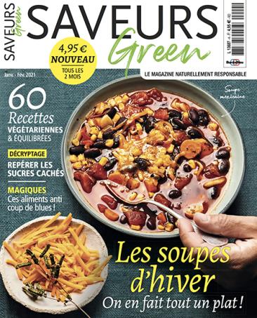 Couverture du magazine Saveurs Green n°4
