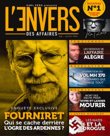 Couverture du magazine L'Envers des Affaires n°1