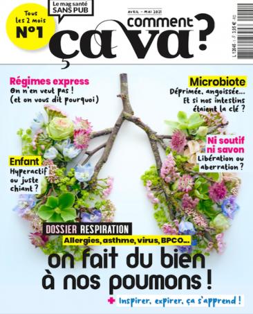 Couverture du magazine Comment ça va n°1