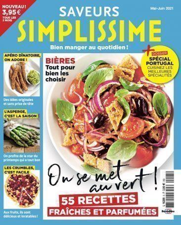 Couverture du magazine Saveurs Simplissime n°5