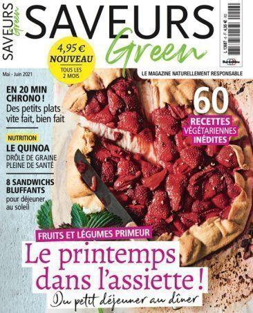 Couverture du magazine Saveurs Green n°6