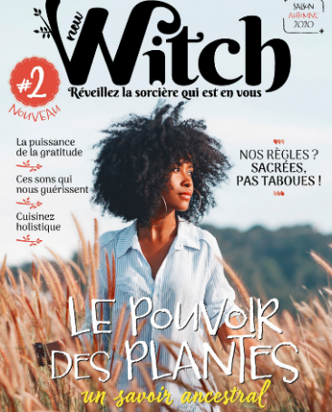 Couverture du magazine New Witch n°2