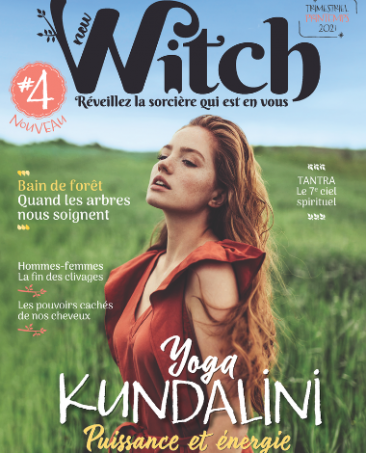 Couverture du magazine New Witch n°4