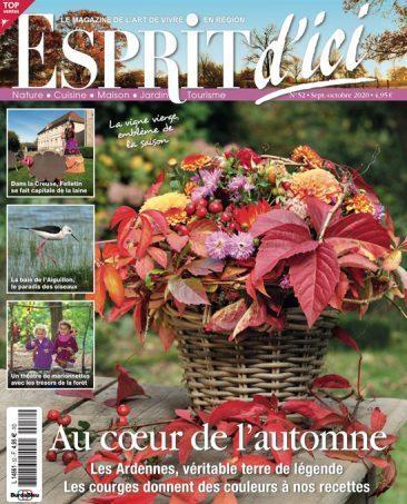 Couverture du magazine Esprit d'ici n°52