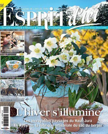 Couverture du magazine Esprit d'ici n°54