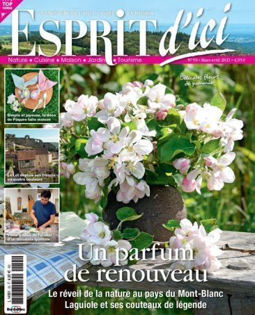 Couverture du magazine Esprit d'ici n°55
