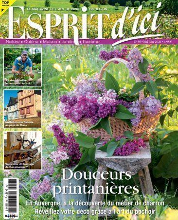 Couverture du magazine Esprit d'ici n°56
