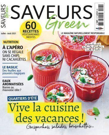 Couverture du magazine Saveurs Green n°7
