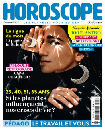 Couverture du magazine Horoscope n°847