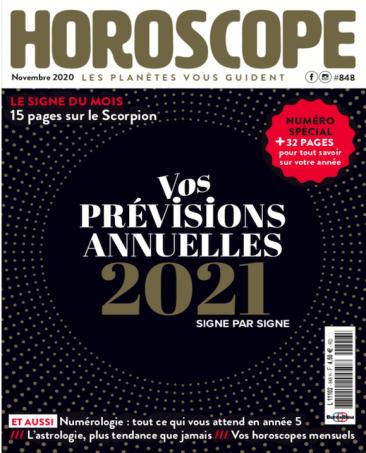 Couverture du magazine Horoscope n°848