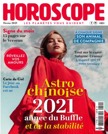 Couverture du magazine Horoscope n°851