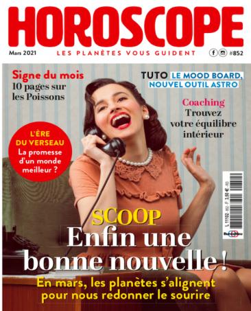 Couverture du magazine Horoscope n°852