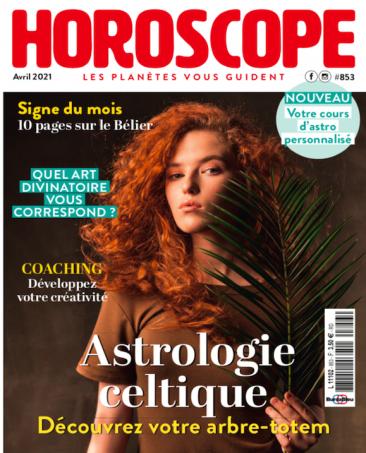 Couverture du magazine Horoscope n°853