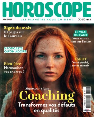 Couverture du magazine Horoscope n°854