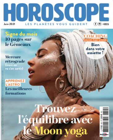 Couverture du magazine Horoscope n°855