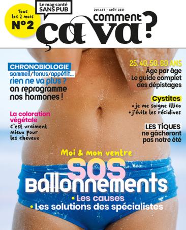 Couverture du magazine Comment ça va n°2