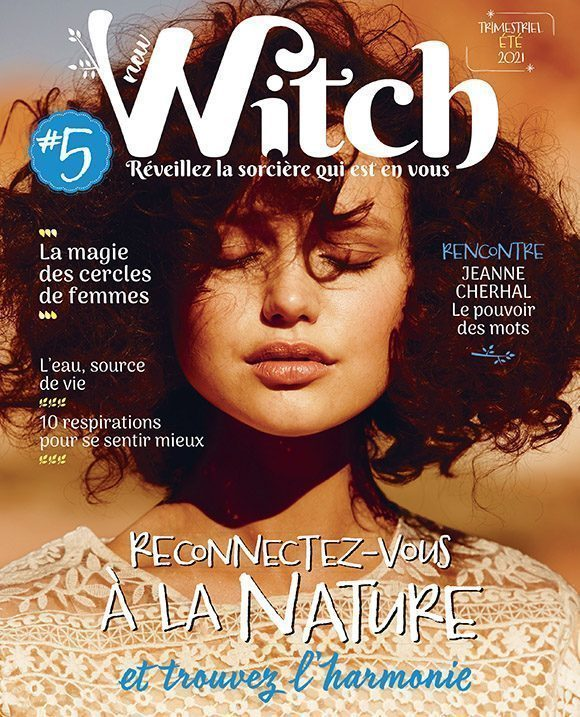 Couverture du magazine New Witch n°5