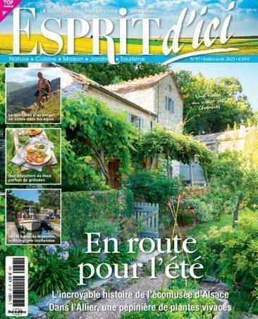 Couverture du magazine Esprit d'ici n°57