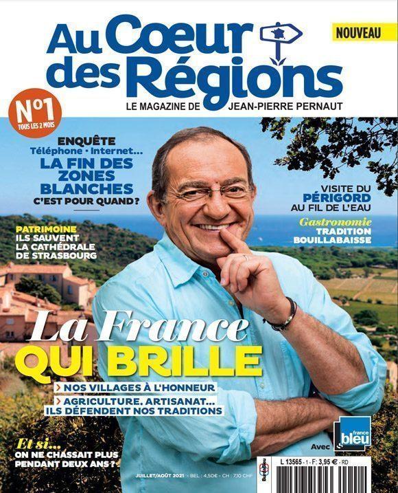 Couverture du magazine Au Cœur des Régions n°1