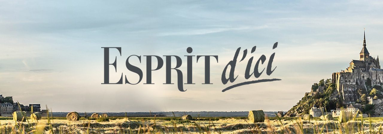 Image de fond dans le theme de la marque Esprit d'ici