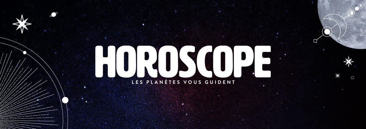 Image de fond dans le theme de la marque Horoscope