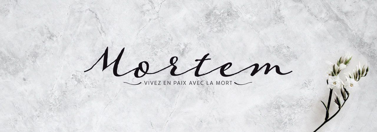 Image de fond dans le theme de la marque Mortem