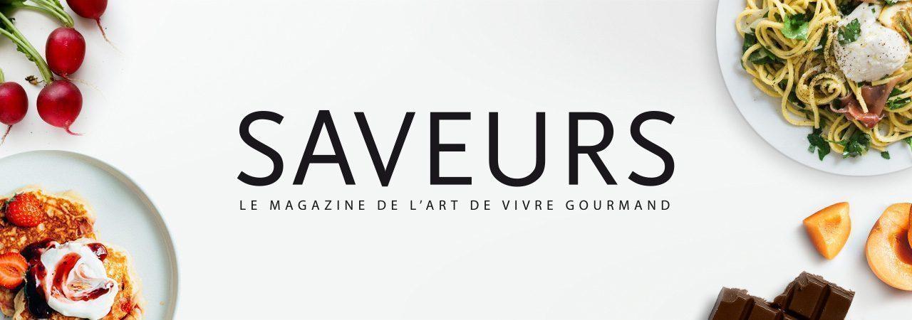 Image de fond dans le theme de la marque Saveurs