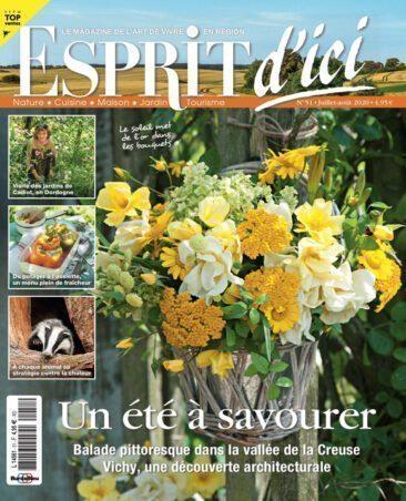 Couverture du magazine Esprit d'ici n°51