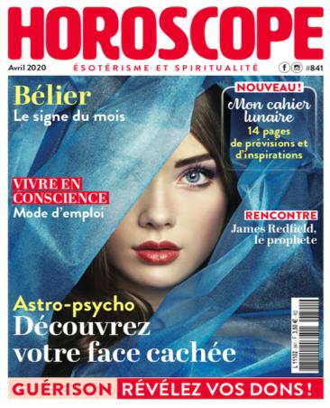 Couverture du magazine Horoscope n°841