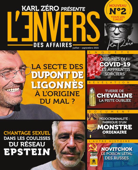 Couverture du magazine L'Envers des Affaires n°2