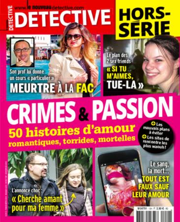 Couverture du magazine Crimes et Passion