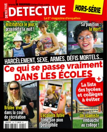 Couverture du magazine Ce qui se passe vraiment dans les écoles