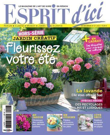 Couverture du magazine Esprit d'ici HS Jardin créatif