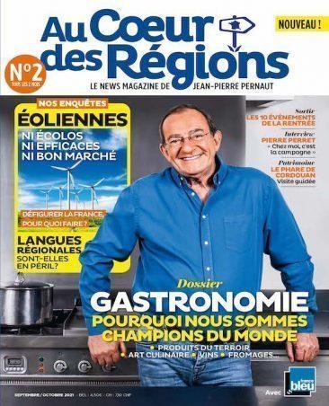 Couverture du magazine Au Cœur des Régions n°2