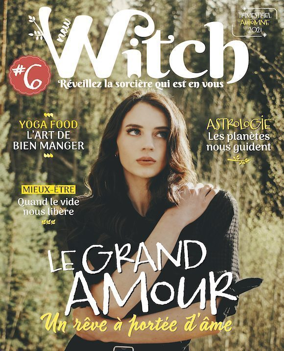 Couverture du magazine New Witch n°6